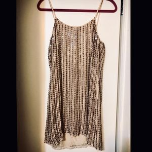 NEW NWOT Parker mini sequin dress low back